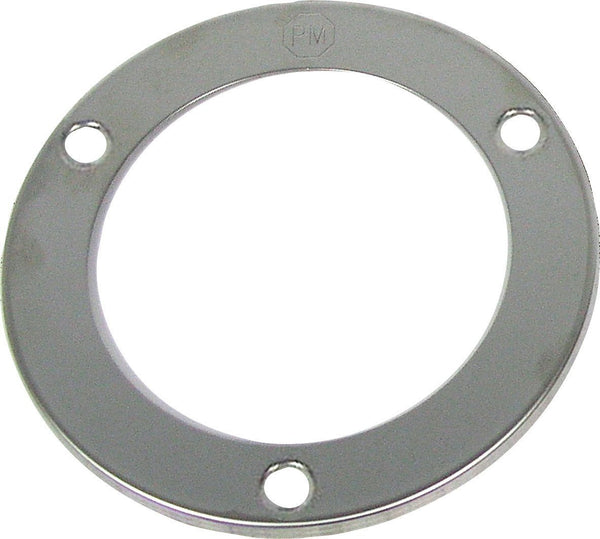 "Peterson 7009S Stainless Steel 4"" Round Bezel Theft Deterrent Ring"