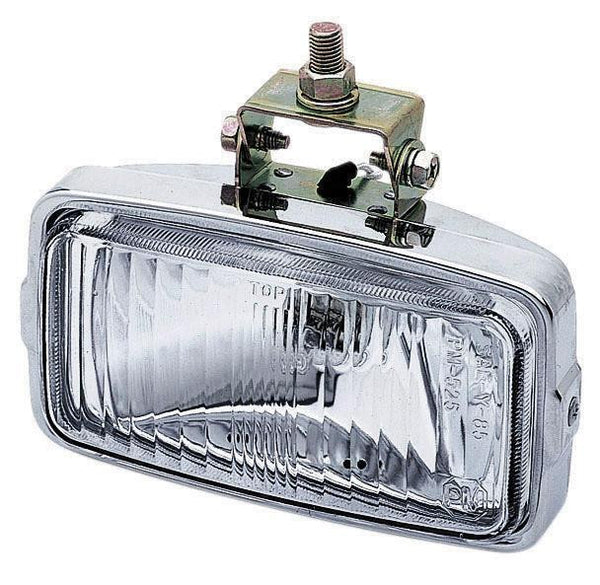 Peterson M526 Chrome, Clear Nightwatcher® LX Halogen Driving Light