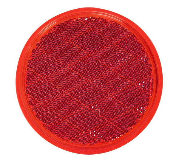 Peterson B475R Red Round Quick-Mount Reflector