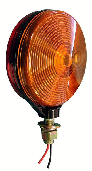 Peterson 313-2RA Red/Amber Double-Face Park & Turn Signal, Pedestal Light