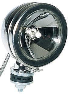 "Peterson V531 Black 6"" Nightwatcher® Chrome, Off-Road Light ( Discontinued )"