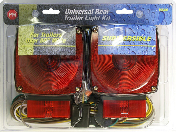 "Peterson V544 Over 80"" Wide Submersible Rear Lighting Kit"