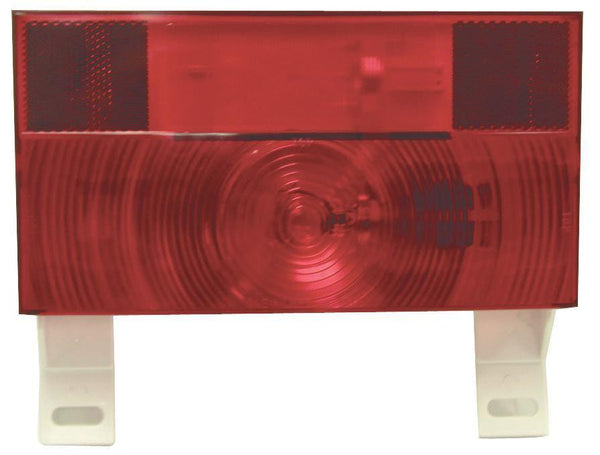 Peterson V25913 Red RV Stop, Turn, & Tail & License Light w/Reflex & Bracket