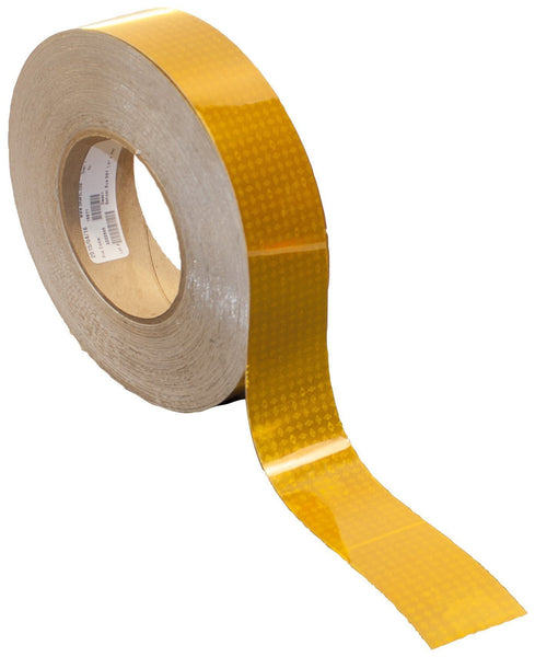 "Peterson 469 Yellow Reflective Tape, 1 7/16"" Wide"