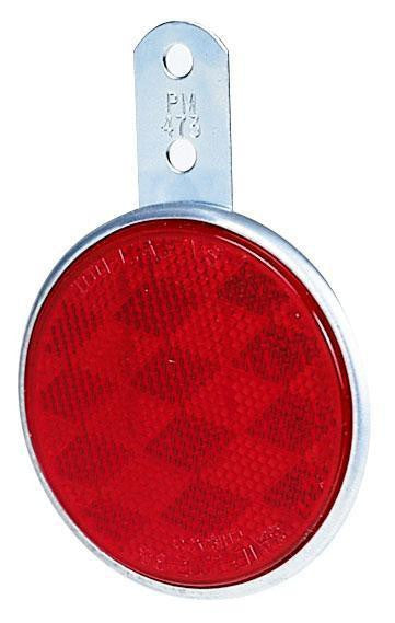 "Peterson B473R Red 3"" Bracket Mount Reflector"