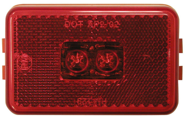 Peterson M129R Red LED Clearance/Side Marker Light