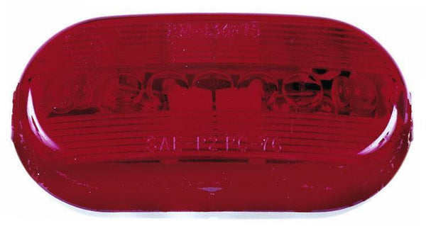 Peterson M135R Red Oblong Clearance and Side Marker Light