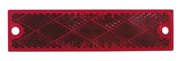 Peterson B487R Red Rectangular Compact Reflector