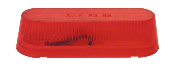 "Peterson 136R Red INCANDESCENT MARKER & CLEARANCE P2 OBLONG 3.5""X1.125"""