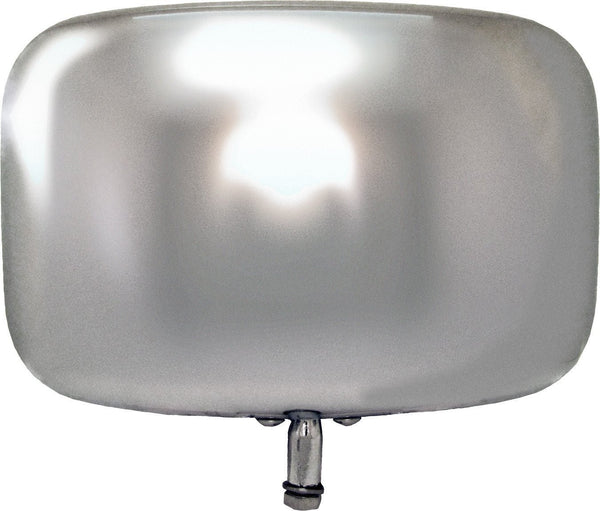 Peterson 836 Chrome Low-Mount Replacement Mirror Head