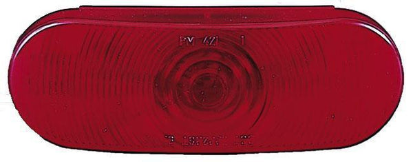 Peterson 421R Red Oval Stop, Turn & Tail Light 12-volt