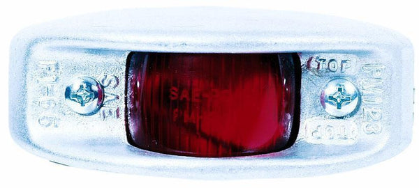 Peterson 123R Red Cast-Aluminum Clearance & Side Marker Light