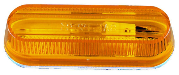 Peterson M136A Amber Oblong Clearance/Side Marker Light