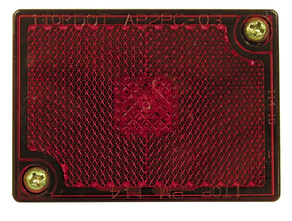 Peterson M114R Red Clearance/Side Marker Light with Reflex