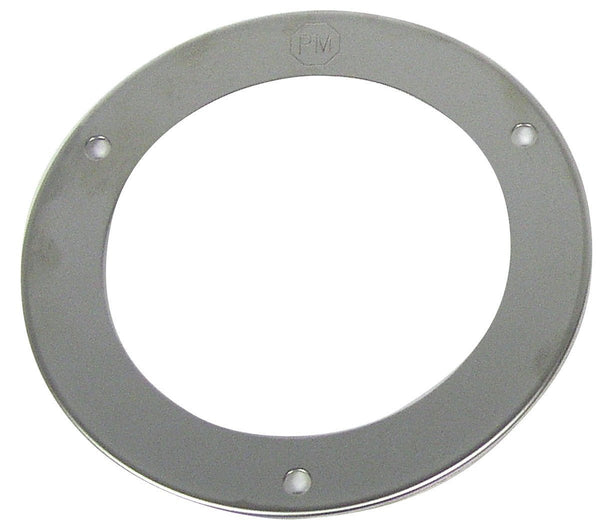 "Peterson V7009S Stainless-Steel 4"" Round Bezel Theft Deterrent Ring"