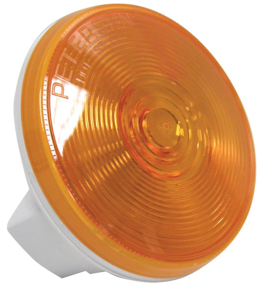 "Peterson 426A Amber Round 4"" Turn Signal Light"