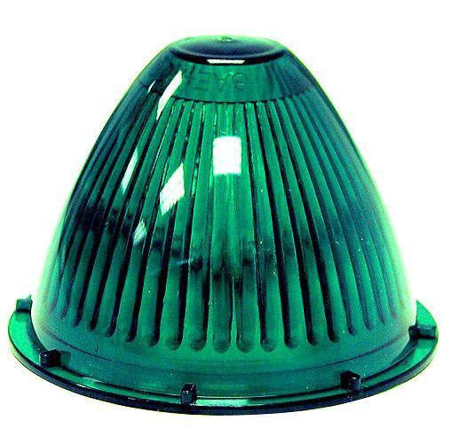 Peterson 110-15G Green Beehive Replacement Lens - Levine Auto and Truck Lighting
