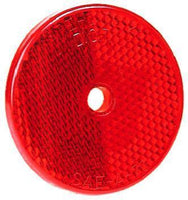 Peterson B477R Red Round Center-Mount Reflector