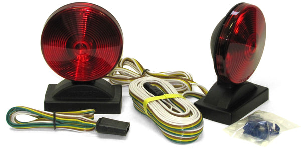 Peterson V555 Magnetic-Mount Tow Light Complete Kit