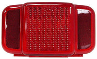 Peterson B457L-15 Red Combination Tail Light w/o license, Replacement Lens