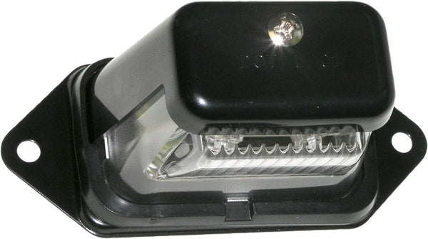Peterson M296C Black Great White® LED License Light