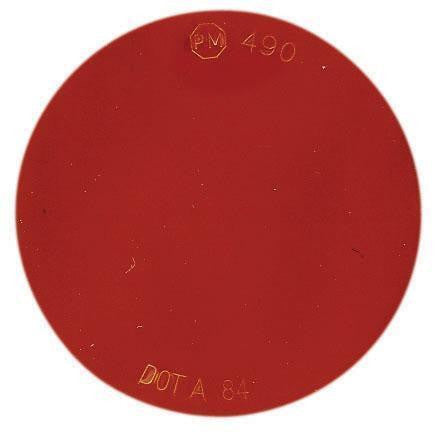 Peterson V490R Red Round Spitfire™ Reflector