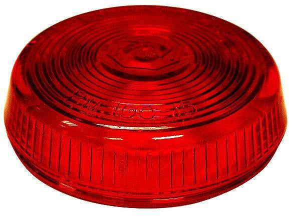 Peterson 100-15R Red Round Clearance/Side Marker Replacement Lens - Levine Auto and Truck Lighting