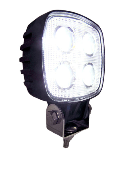"Peterson 913-MV Great White®  3""x3"" LED Rectangular Compact Work Light"