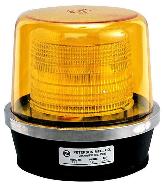 Peterson 793A Amber 17-Joule, Quad-Flash Strobe Light, 12-24V