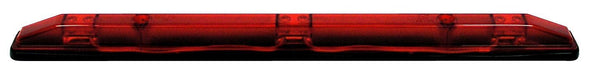 Peterson M169-3RBT2 Red LED Identification Light Bar w/.180 Bullets