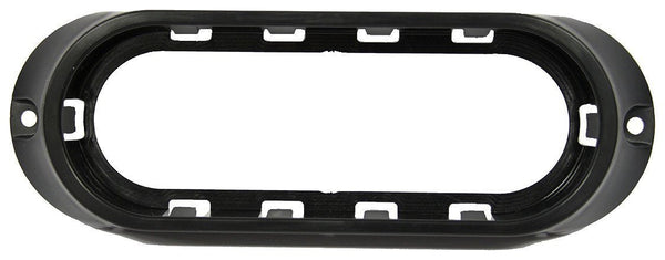 Peterson 820-09 Black Plastic Oval Surface-Mount Bracket