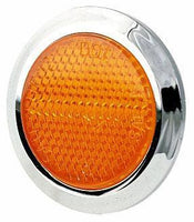 "Peterson B474A Amber 2"" Accessory Reflector"