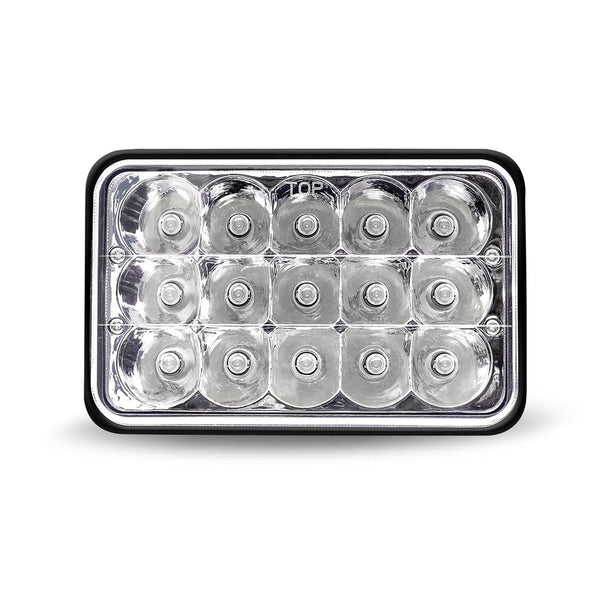 "Trux TLED-H71 Economy 4"" x 6"" LED Headlight (Combination High & Low Beam 