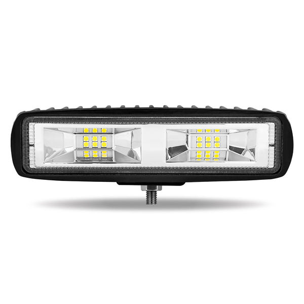 "Trux TLED-U122 Super Wide 6"" Flood LED Work Lamps (1100 Lumens)"