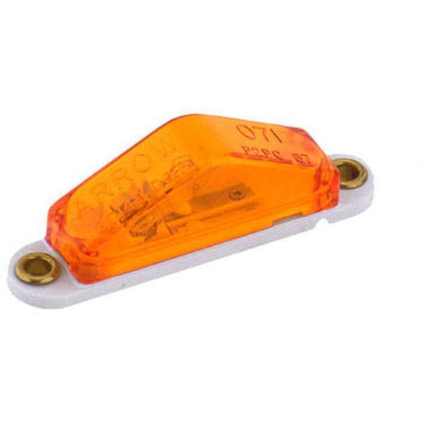 Arrow A071-00-712 Amber Ultra Slim Marker Light, Exterior Wiring - Levine Auto and Truck Lighting