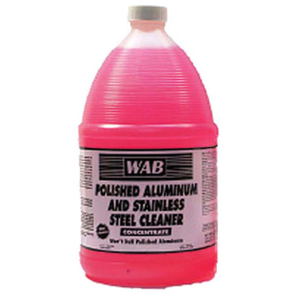 WAB 07 Polished Aluminum & Stainless Steel Cleaner 1 Gal