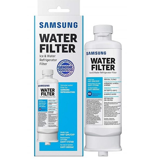 Samsung DA97-17376B / HAF-QIN Ice and Water Refrigerator Filter