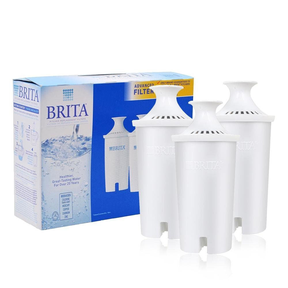 Brita Replacement Water Filter for Pitchers - Fine Filters