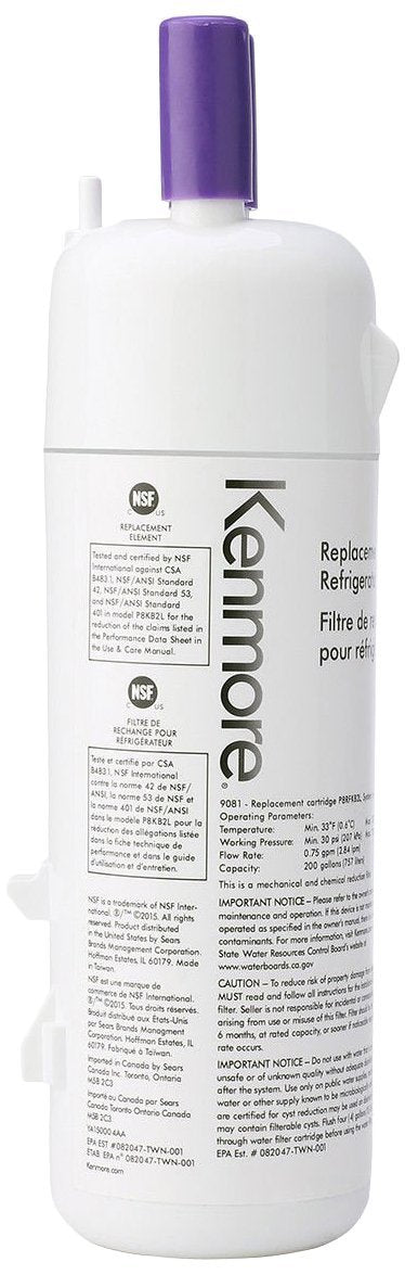 Kenmore 9081 Refrigerator Water Filter - Fine Filters