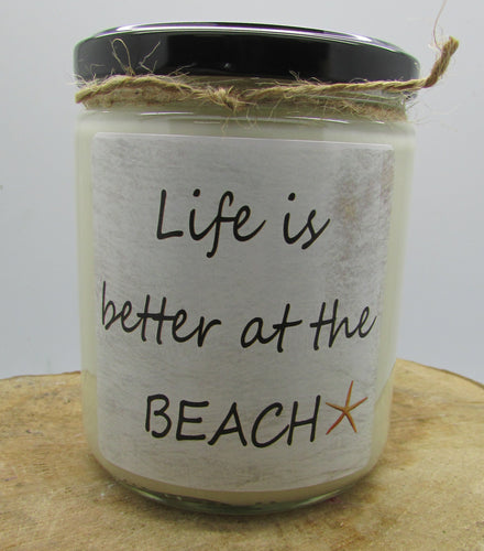 Quote Jar Beach