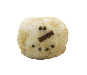 Battery Timer Round Baby Snowman Primitive