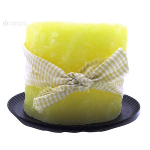 Electric Candle Lemon Cheesecake
