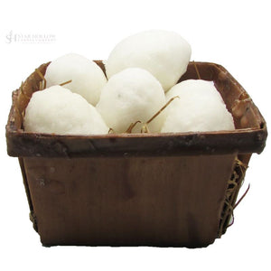 Egg Basket White