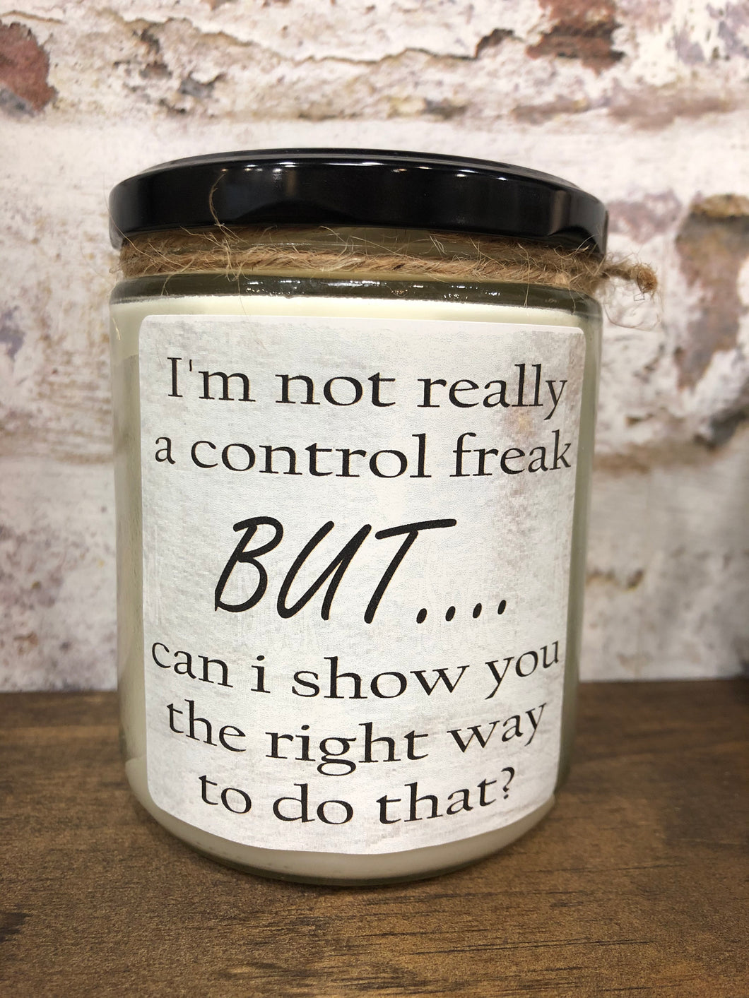 control freak candle