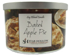 Large Silver Lid Jar Baked Apple Pie