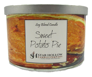 Large Silver Lid Jar Sweet Potato Pie