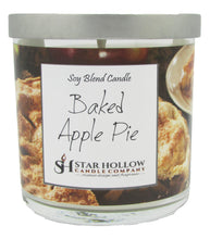 Small Silver Lid Jar Baked Apple Pie