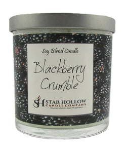 Small Silver Lid Jar Blackberry Crumble