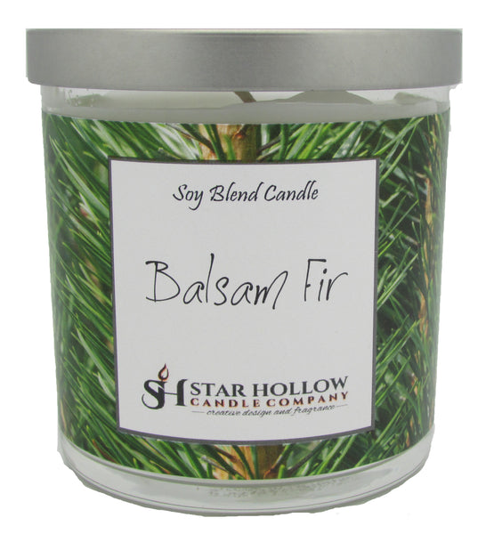 Small Silver Lid Jar Balsam Fir