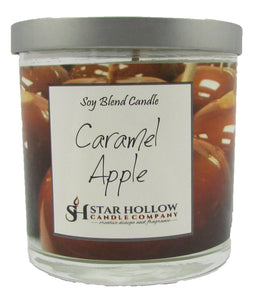 Small Silver Lid Jar Caramel Apple